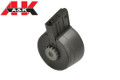 A&K 3000 Rounds Sound Control Drum Magazine For SR25 AEG (Black)
