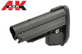 A&K VLTOR EMOD Retractable Stock For M4/M16 AEG Rifle (Black)