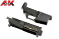 A&K Metal Upper And Lower Receiver For M4A1 STW AEG Rifle(Black)