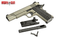 Angry Gun Unicorn M1911A1 GBB Pistol (Deluxe, Stainless Grey)