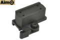 Aimo Aluminum QD Riser Mount For T1/T2 Red Dot Sight (Black)
