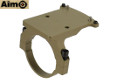 AIMO RMR Red Dot Sight Mount For ACOG Scope (Dark Earth)