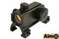 AIMO Claw Mount Red Dot Sight For MP5/G3 (Black)