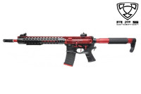 APS FMR MOD1 Froged Match ASR120 M4 AEG Rifle (Black & Red)