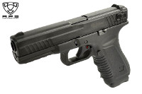 APS BLACK HORNET J Semi & Auto CO2 Blow Back Pistol (Black)