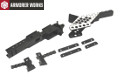 Armorer Works Pre-drilled Mid Receiver IPSC Conversion Kit