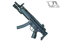 Classic Army MP5A3 AEG SMG w/ Forend Weaponlight (Black)
