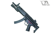 Classic Army MP5A5 AEG SMG w/ Forend Weaponlight (Black)