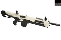 CSI Airsoft S.T.A.R. XR-5(FG-1503) AEG AMB Rifle (White)