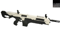 CSI Airsoft S.T.A.R. XR-5(FG-1504) AEG AMB Rifle (White)