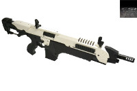 CSI Airsoft S.T.A.R. XR-5(FG-1505) AEG AMB Rifle (White)