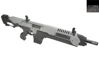 CSI Airsoft S.T.A.R. XR-5(FG-1506) AEG AMB Rifle (Grey)