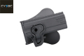 CYTAC Quick Draw Holster For 1911 Compact/Pro Pistol (Black)