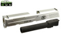 Cybergun Steel Civil Version Slide & Barrel For FNX-45 GBB (SV)