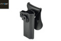 CYTAC Quick Draw Holster For Hi-Capa Pistol (Black)