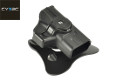 CYTAC Quick Draw Holster For XDS Pistol (Black)