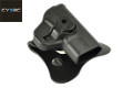 CYTAC Quick Draw Holster For M&P Shield Pistol (Black)