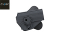 CYTAC Quick Draw Holster For USP / USP Compact Pistol (Black)
