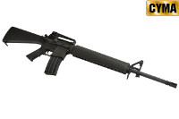 CYMA M16A3 AEG Assault Rifle (Black)