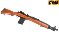 CYMA Real Wood M14 SOCOM AEG Rifle (Dark Wood)