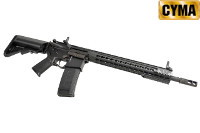 CYMA 335mm KeyMod Handguard M4A1 AEG Rifle (Black)