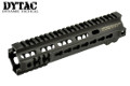 DYTAC Metal G Style SMR MK4 Rail For PTW AEG (9.5 inch, Black)