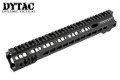 DYTAC Metal G Style SMR MK4 Rail For PTW AEG (13 inch, Black)