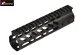 "EAIMING Metal GUNTEC Style 10"" M-LOK Handguard For M4 AEG (BK)"