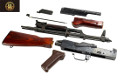 E&L Real Wood & Steel AK-47/AKM AEG Rifle Conversion Kit (Black)