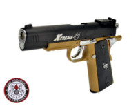 G&G Xtreme 45 6mm Hard Kick CO2 Blowback Pistol(DE and Black)