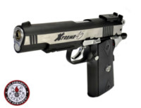 G&G Xtreme 45 6mm Hard Kick CO2 Blowback Pistol (SV and Black)