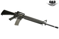 G&D DTW MAX3 Training Weapon M16A3 USMC AEG Rifle (Black)