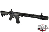 G&P 425mm SAI QD System Handguard GRY GBB Rifle (Black)