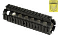 Golden Eagle 257mm RIS Handguard For M4 AEG Rifle (Black)