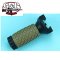G&P 85mm Rubber Foregrip for RAS Series (Black and Sand)