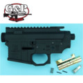 G&P Salient Arms Metal Body for Marui M4 / M16 Series (Black)