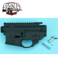 G&P GBB Salient Arms Metal Body for WA M4A1 Series (Black)