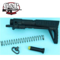 G&P Slim Snake GBB PDW Stock for WA M4A1 Series (Black)