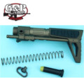 G&P Slim Snake GBB PDW Stock for WA M4A1 Series (Sand)