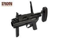 Iron Airsoft M320A1 40mm Gas Grenade Launcher (Black)