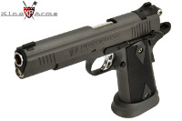 King Arms Predator Tactical Iron Strike GBB Pistol (Grey)