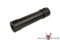 King Arms Aluminum 190mm QD Silencer For MP9 GBB (Black)