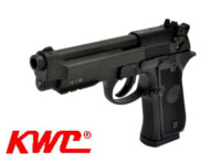 KWC Metal M92 KCB23 Semi / Full Auto CO2 GBB Pistol (Black)