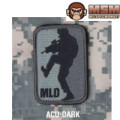 MSM Major League Doorkicker 徽章 - ACU Dark