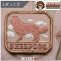 MSM Sheepdog Patch - Desert