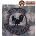 MSM Rock Out Patch - ACU