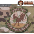 MSM Rock Out Patch - ARID