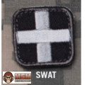 MSM Medic Square 1 inch Patch - SWAT
