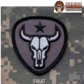 MSM Bull Skull Patch - SWAT