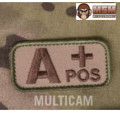MSM Bloodtypes Patch - Multicam